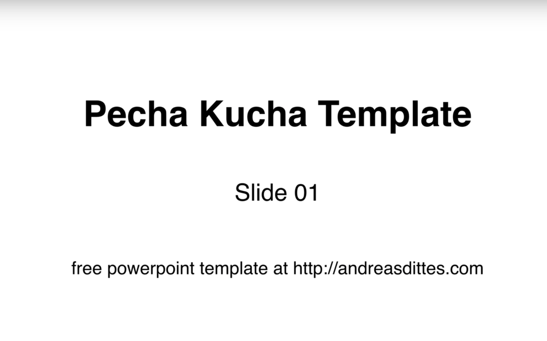 Pecha kucha template andreas dittes for Pecha kucha powerpoint template